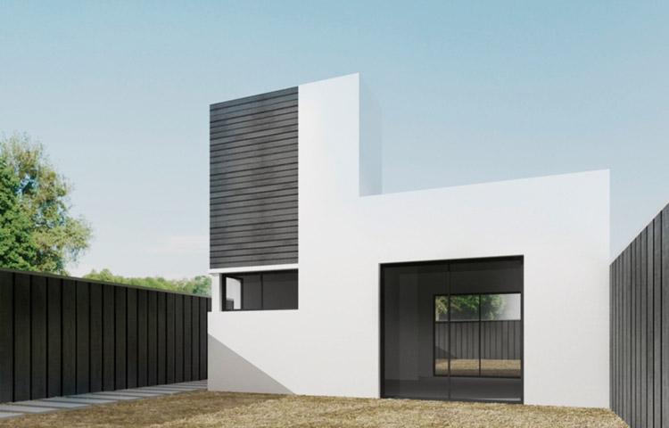 Plan procrear para construcci n con steel framing for Modelos casas procrear 2016